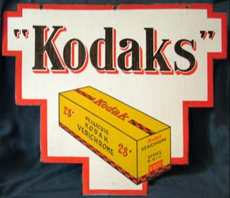 Jack And Beverly S Kodak Advertising Signs