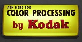 kodak signs Vintage